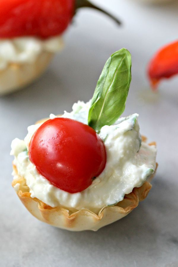 Easy Christmas Appetizer Finger Foods Party recipes Pinterest