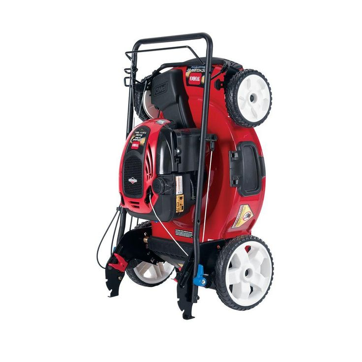 Toro 22 in. High Wheel Variable Speed Walk Behind Gas Self Propelled Mower with SmartStow-20339 - The Home Depot