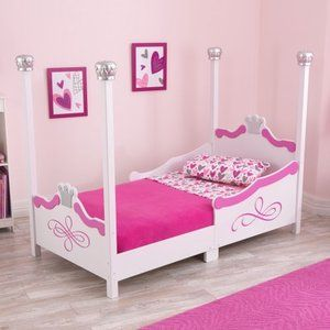 Kidkraft Princess Toddler Bed - Silver