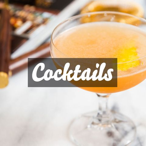Martinis, mojitos, margaritas, and oh-so-much more: our favorite tried-and-true drink recipes for every variety of booze.