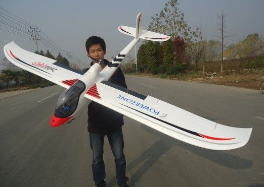 Find More RC Airplanes Information about RC Airplane 2600mm FPV glider remote…