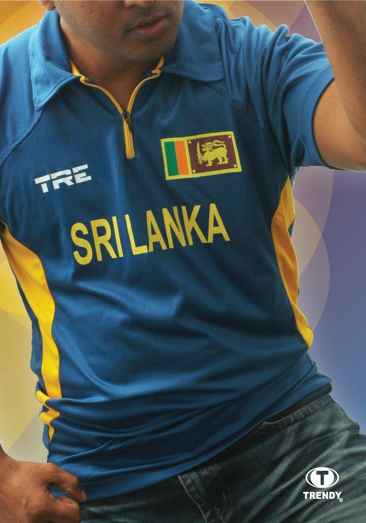 TRE Sri Lanka cricket Tshirt Cricket t shirt, Mens tops