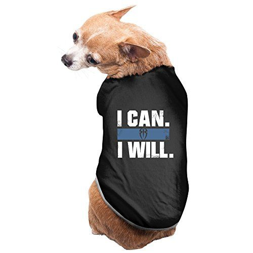 Jade Pet Doggie Roman Wrestler Reigns I Can I Will Tank Black Size L >>> See this great product.(This is an Amazon affiliate link and I receive a commission for the sales)