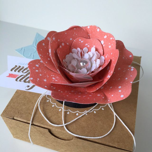 32 best stampin up bouquet bigz images on pinterest paper flowers bij margriet creatief stampin up box mothers day moederdag gift wrapingfelt flowerspaper mightylinksfo Choice Image