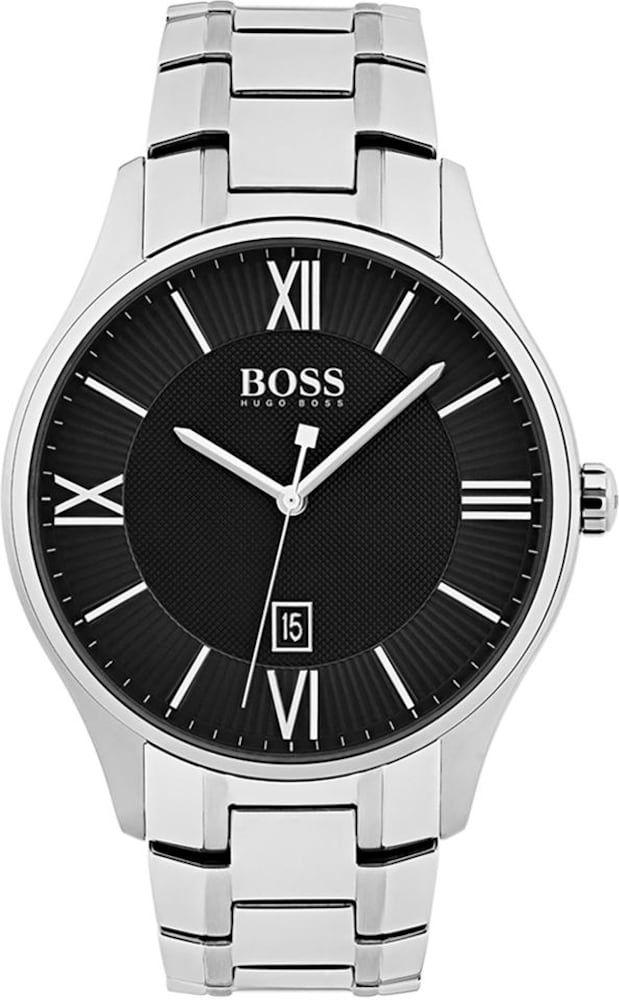 Boss Armbanduhr Herren Silber Grosse One Size Quarzuhr Herren Armband Und Armbanduhr