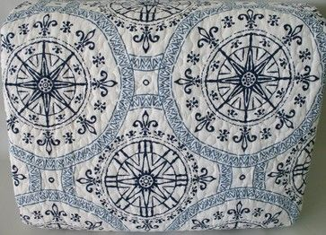 Navy Nautical Bedding Set beach-style-quilts-and-quilt-sets