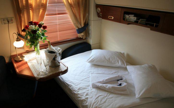 Trans-Siberian Railway Train Luxury Bedroom Suites