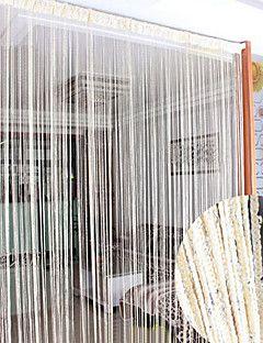 """39 Classic Solid ligne rideau drapé """"w * 78"""" L de pays - 2 couleurs disponibles"""