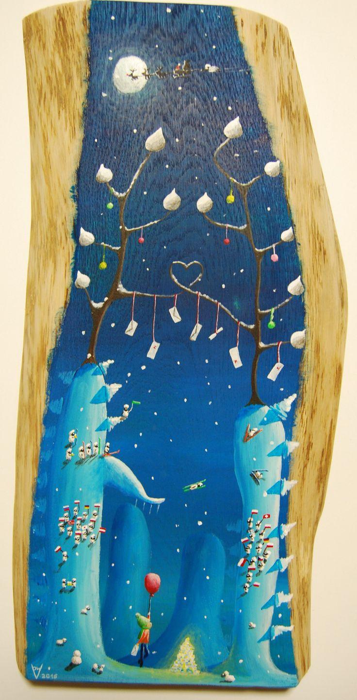 """""""me 18"""" Paweł Widera original paintings, acrylic on wood"""