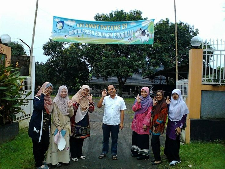 Kunjungan mahasiswa universiti sains islam malaysia ke sentulfresh