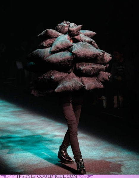 fashion...? That´s a real catwalk...