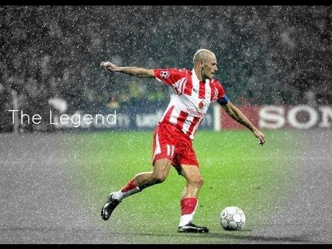 Predrag Djordjevic was a Great football player from Serbia who played for Olympiakos FC for 13 years from 1996 to 2009 when he retired!He won 12 National Championships with the team and he scored 126 goals during his stay at Olympiakos. He was a great Wing Half player and great in scoring from foul positions and penalties.He was among the top players of Olympiakos at the Greek Championship and he also played great games at Champions League.