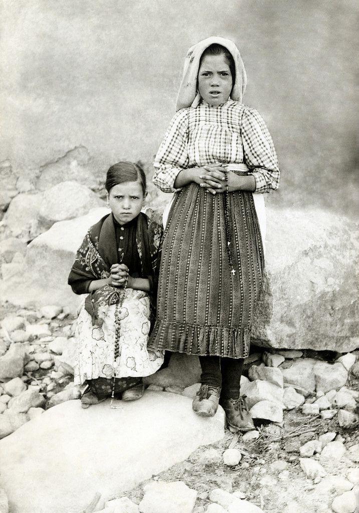 Fatima Seherkinder 3 | Lady of fatima, Catholic saints, Catholic images