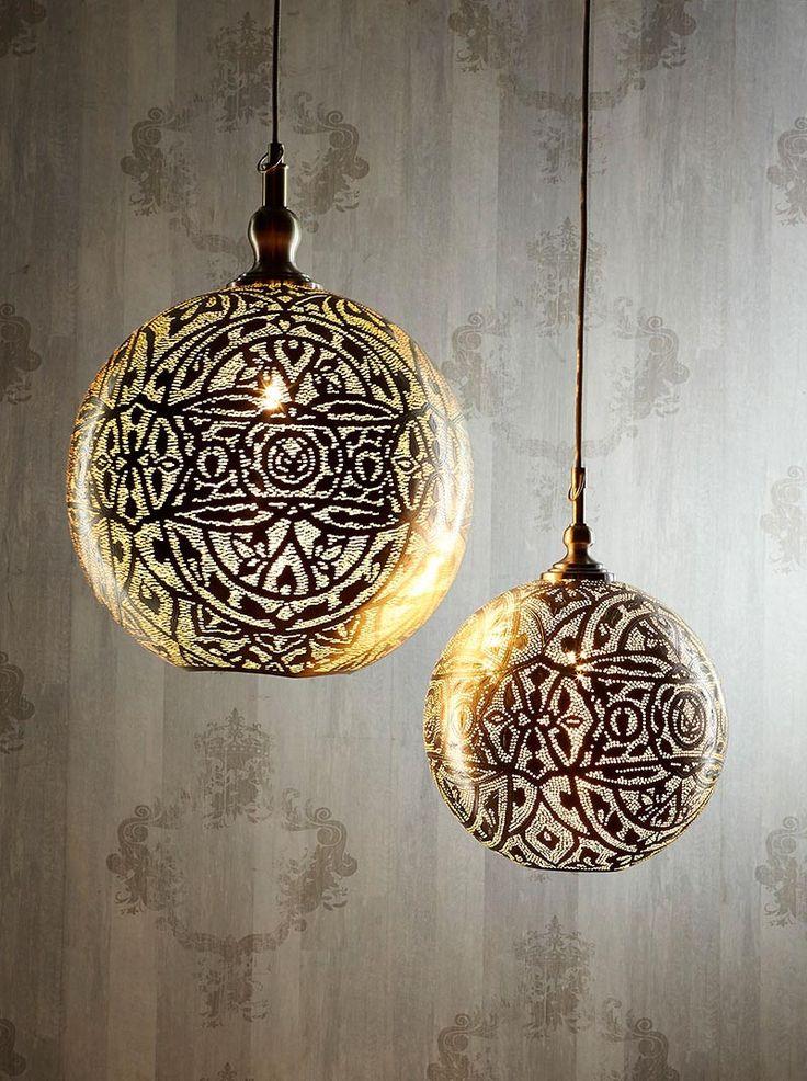 Moroccan Lantern Ceiling Light