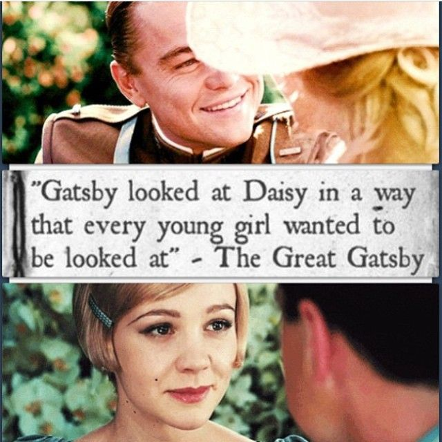 The gatsby to my daisy