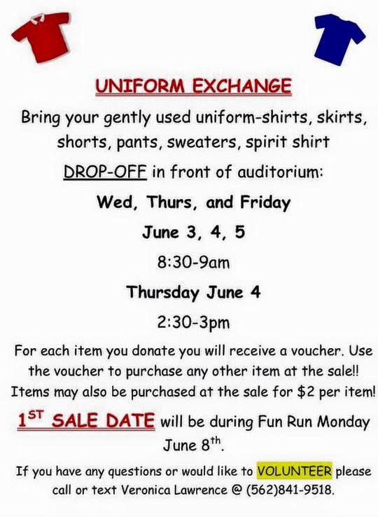 uniform exchange flyer
