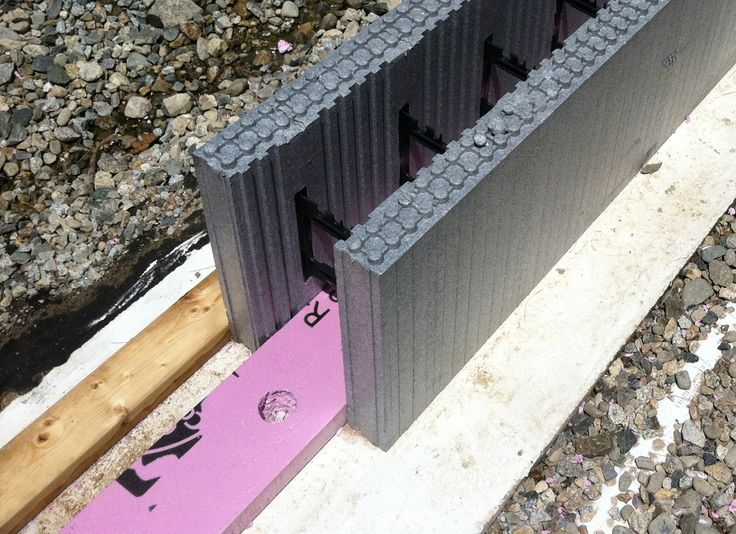 Pin by craig m on building pinterest insulated for Basement wall forms