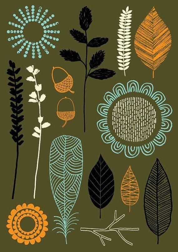 Nature Trail No3, edición limitada giclee print