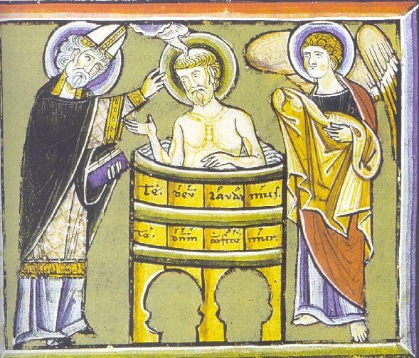 Battesimo di Agostino