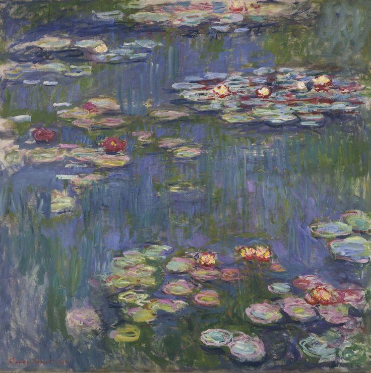Les nymphéas, par Claude Monet