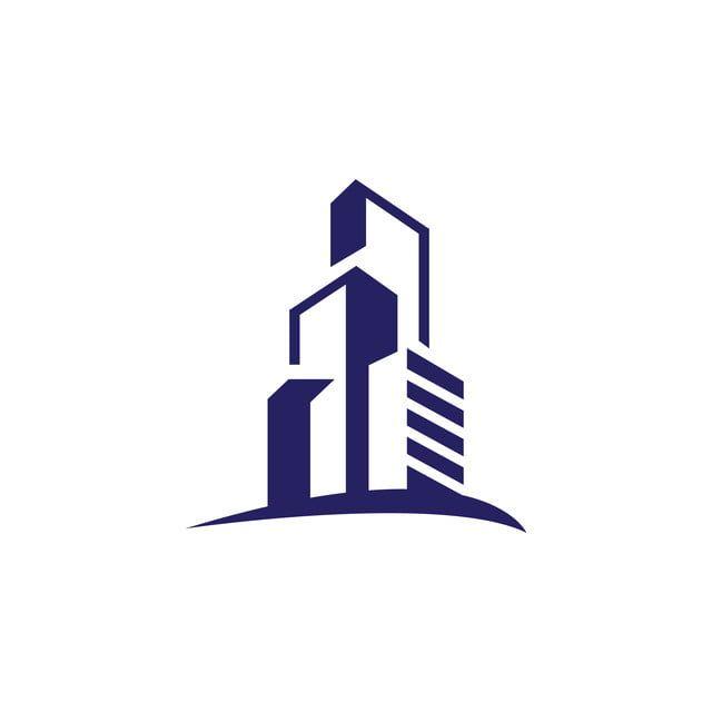 Realty Flat Apartment Modern Building Logo Design Graphic Style In 2020 Building Logo Realty Logo Design House Logo Icon