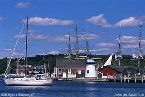 Mystic Seaport, Connecticut.