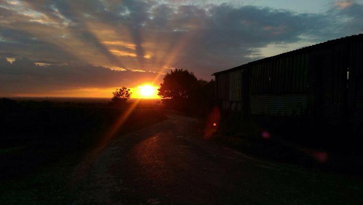 Sunset ☀️ Farm  Llandyrnog