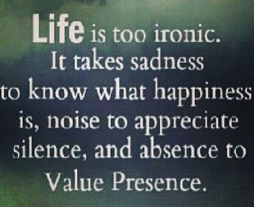 Life Is Ironic Quote