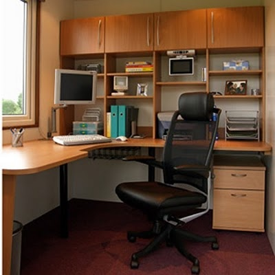 11 best garage office reno images on pinterest garage for Small office in garage