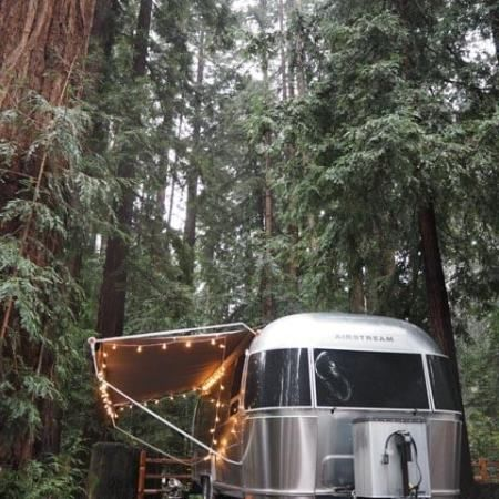 Learn about ultimate glamping spot to take your Airstream rental, located between Santa Cruz and Half Moon Bay, in the San Francisco Bay Area.