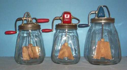 Standard Churn Company Butter Churns: Company Butter, Churn Company, Dazey Butter, Butter Churn, Standards Churn, Glasses Butter, Glasses Jars
