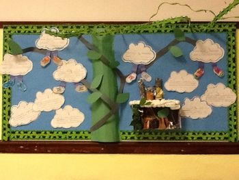 Jack and the Bean Stalk Bulletin Board