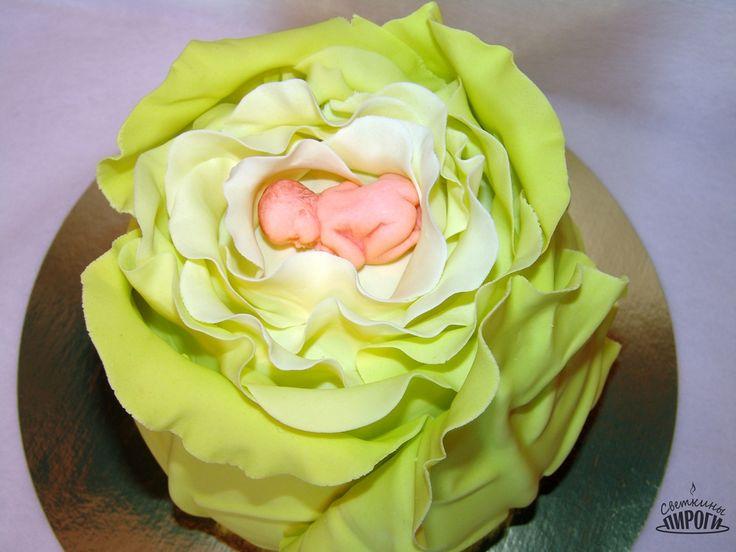 cake sugar paste cabbage baby торт сахарная паста капуста младенец  present https://vk.com/svetkintort
