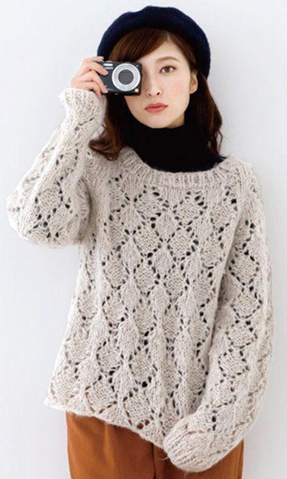 作品♪tricot10-1ダイスセーター