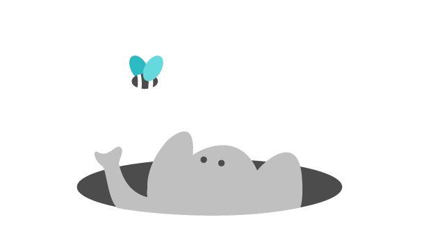 Ved du, at elefanterne kan stå op at sove ?