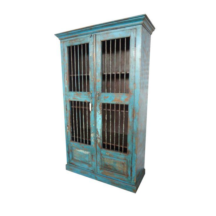 Reclaimed Iron Bar Casement Cabinet U2013 Habitat Home And Garden