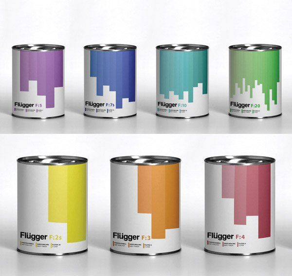 creative examples of paint packaging designs package pinterest