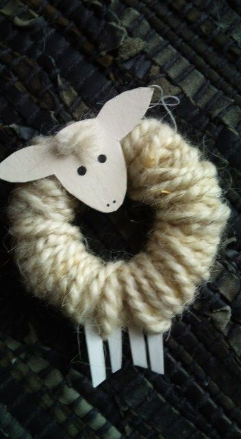 90 best images about irish you wacky woolies on pinterest for Sheep christmas ornament craft