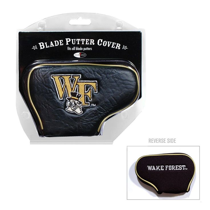 Team Golf Wake Forest Demon Deacons Blade Putter Cover, Multicolor