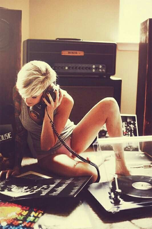 vinyl girl