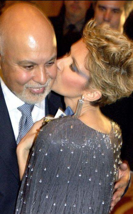 Céline Dion et René Angélil en 2005