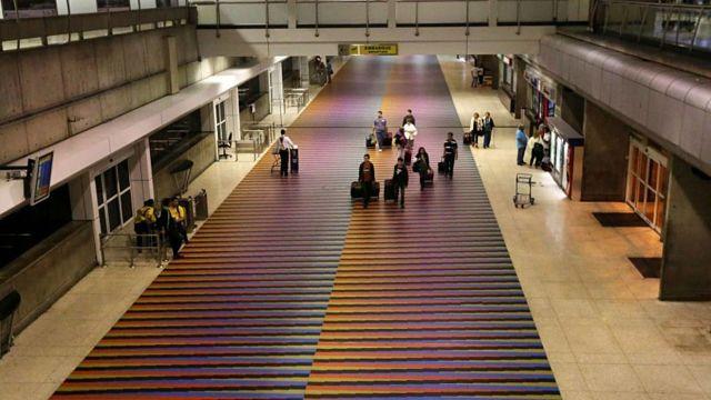 Aplican nuevo modus operandi para robar en los aeropuertos
