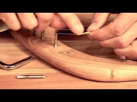 How to String and Tune Your Lyre -- from Palumba, offering kinder lyres for Waldorf schools - YouTube