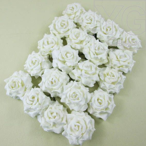 Find More Decorative Flowers & Wreaths Information about Free shipping 4.0cm paper rose flowers edge curling artificial flowers for scrapbooking decor 20pcs/lot,High Quality flower supplies,China flowers plus Suppliers, Cheap flower reproduction from YUGUO INDUSTRY AND TRADE LIMITED on Aliexpress.com