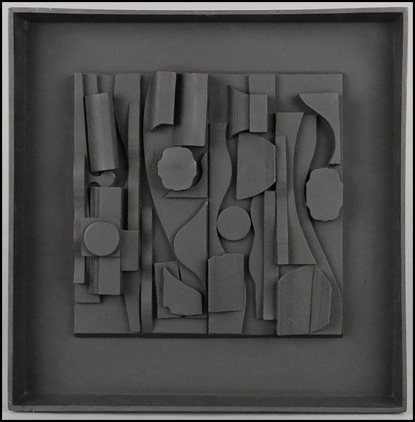 paolo scheggi | 1166019: LOUISE NEVELSON (1899-1988) SYMPHONY THREE.