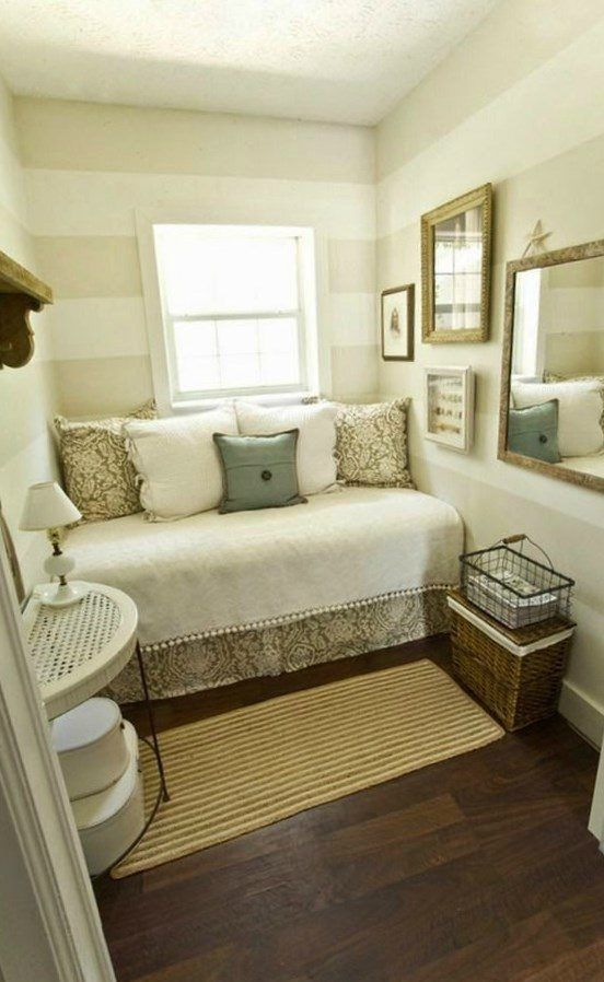 Small guest bedroom decorating ideas - https://bedroom-design-2017.info/interior/small-guest-bedroom-decorating-ideas.html. #bedroomdesign2017 #bedroom