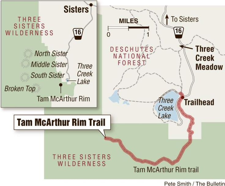 Get up close to the Cascades at Tam McArthur Rim; Hike near Sisters is perfect for families