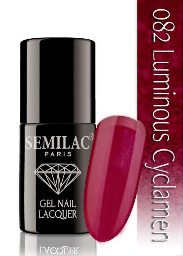 Semilac 082 Luminous Cyclamen UV&LED Nagellack. Auch ohne Nagelstudio bis zu 3 WOCHEN perfekte Nägel!
