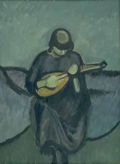 Harald Giersing (1921) Mandolinspillerske