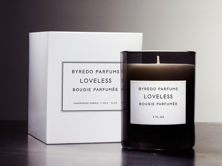 luxe black byredo candles